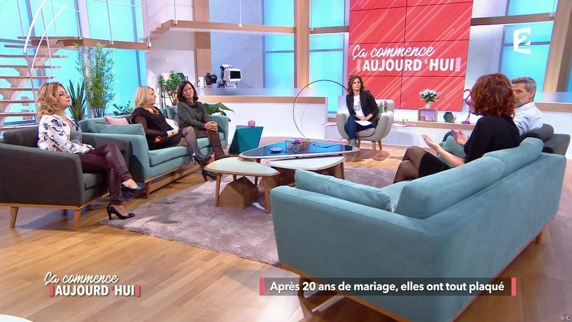 Christèle Albaret dans Ça Commence Aujourd'hui. Diffusé à la télévision le 13/11/17.