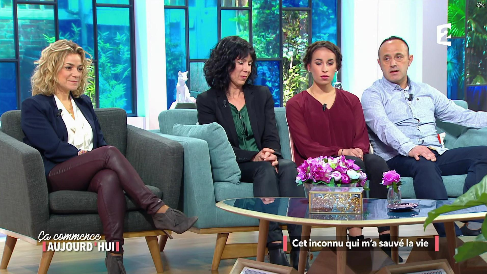 Christèle Albaret dans Ça Commence Aujourd'hui. Diffusé à la télévision le 13/12/17.
