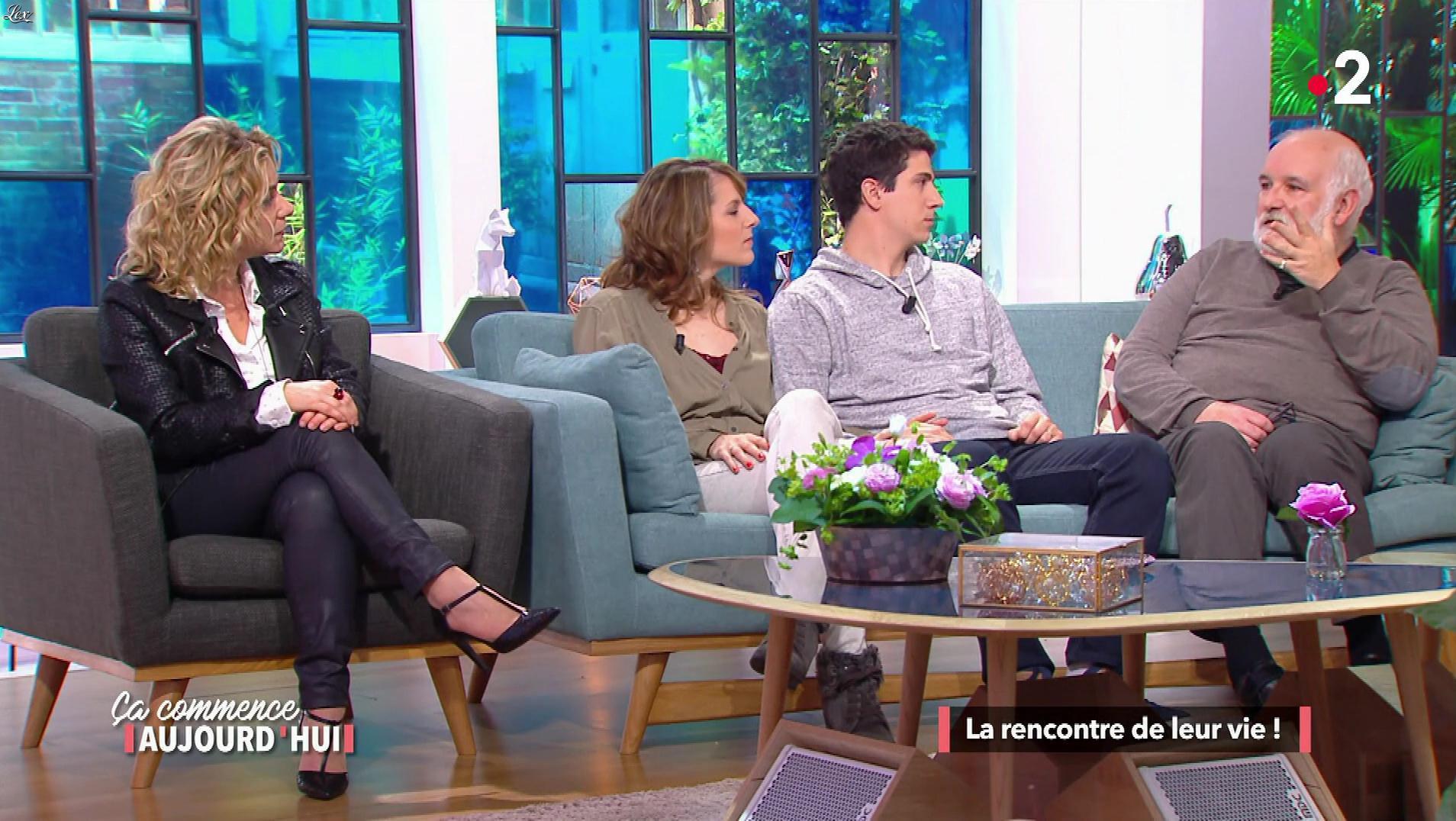 Christèle Albaret dans Ça Commence Aujourd'hui. Diffusé à la télévision le 26/02/18.
