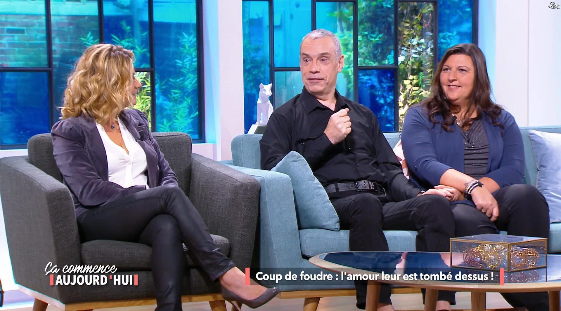 Christèle Albaret dans le Tube. Diffusé à la télévision le 25/11/17.