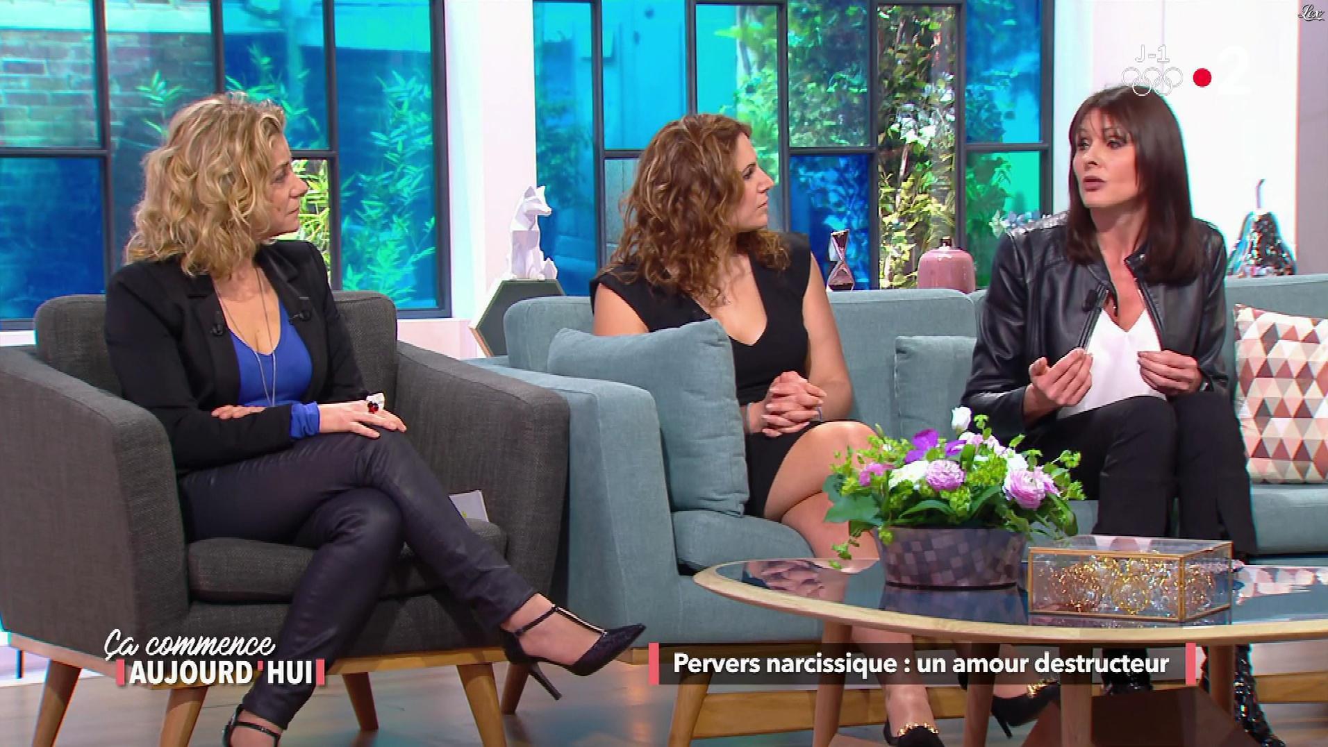Christèle Albaret dans une Ça Commence Aujourd'hui. Diffusé à la télévision le 08/02/18.