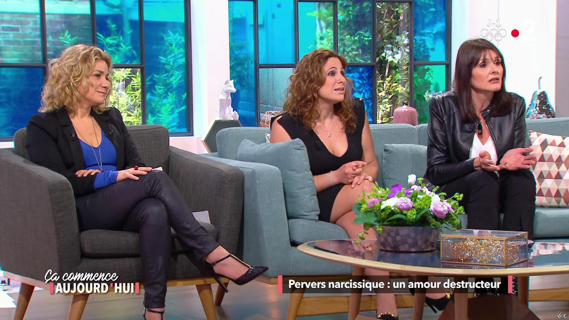 Christele Albaret dans une Ça Commence Aujourd'hui. Diffusé à la télévision le 08/02/18.