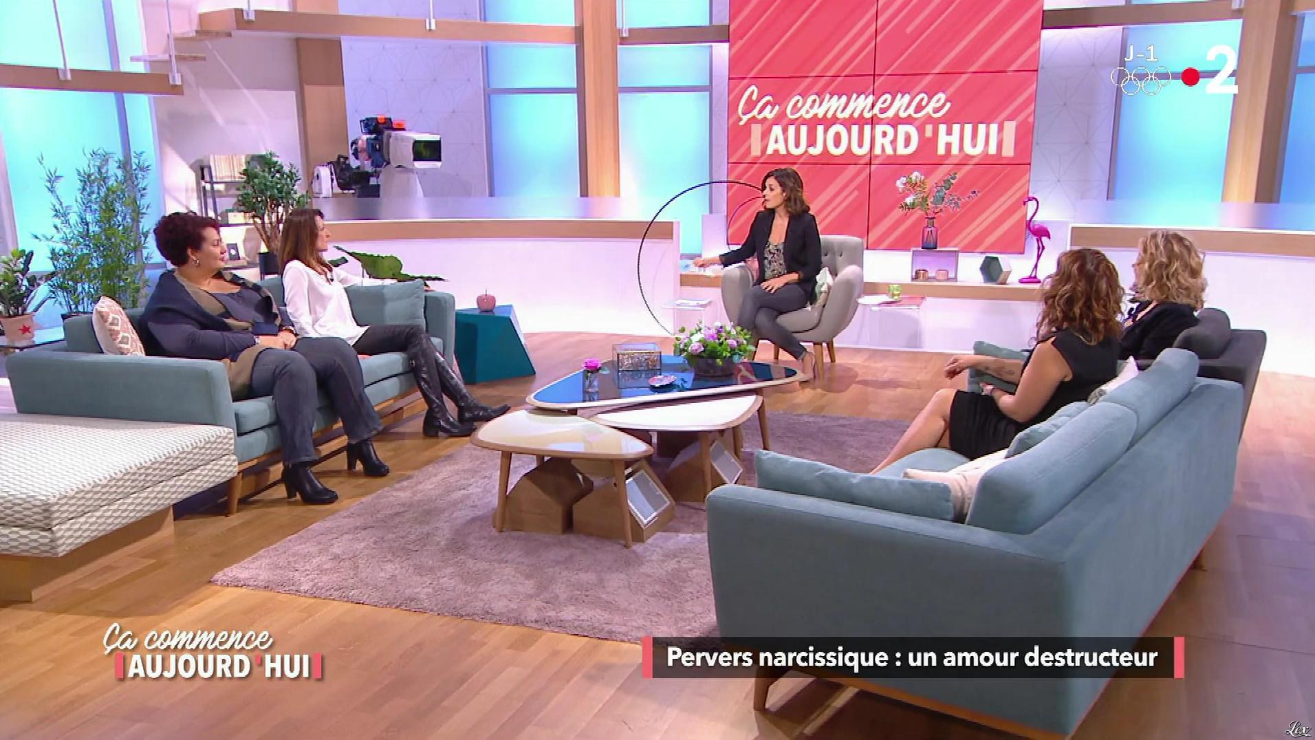 Christele Albaret et une Inconnue dans Ça Commence Aujourd'hui. Diffusé à la télévision le 08/02/18.