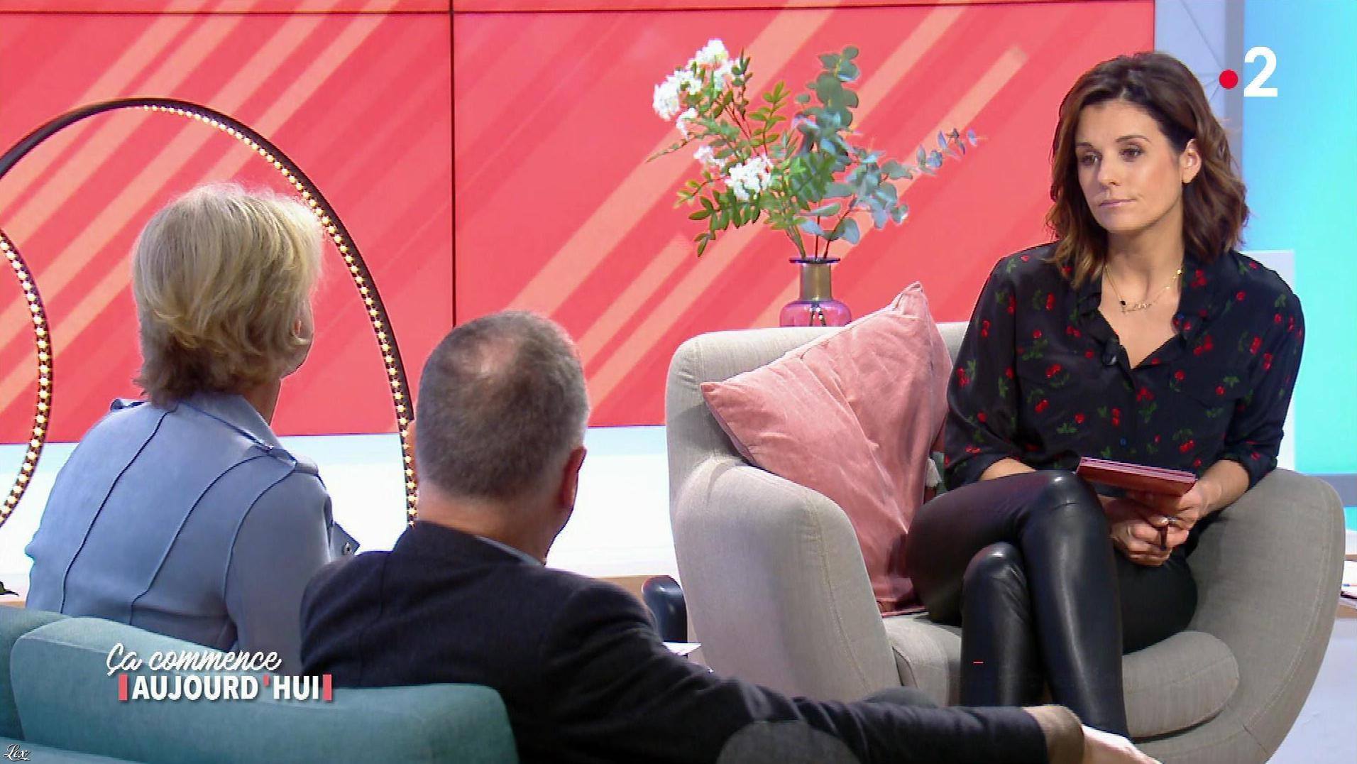 Faustine Bollaert dans Ça Commence Aujourd'hui. Diffusé à la télévision le 03/04/18.