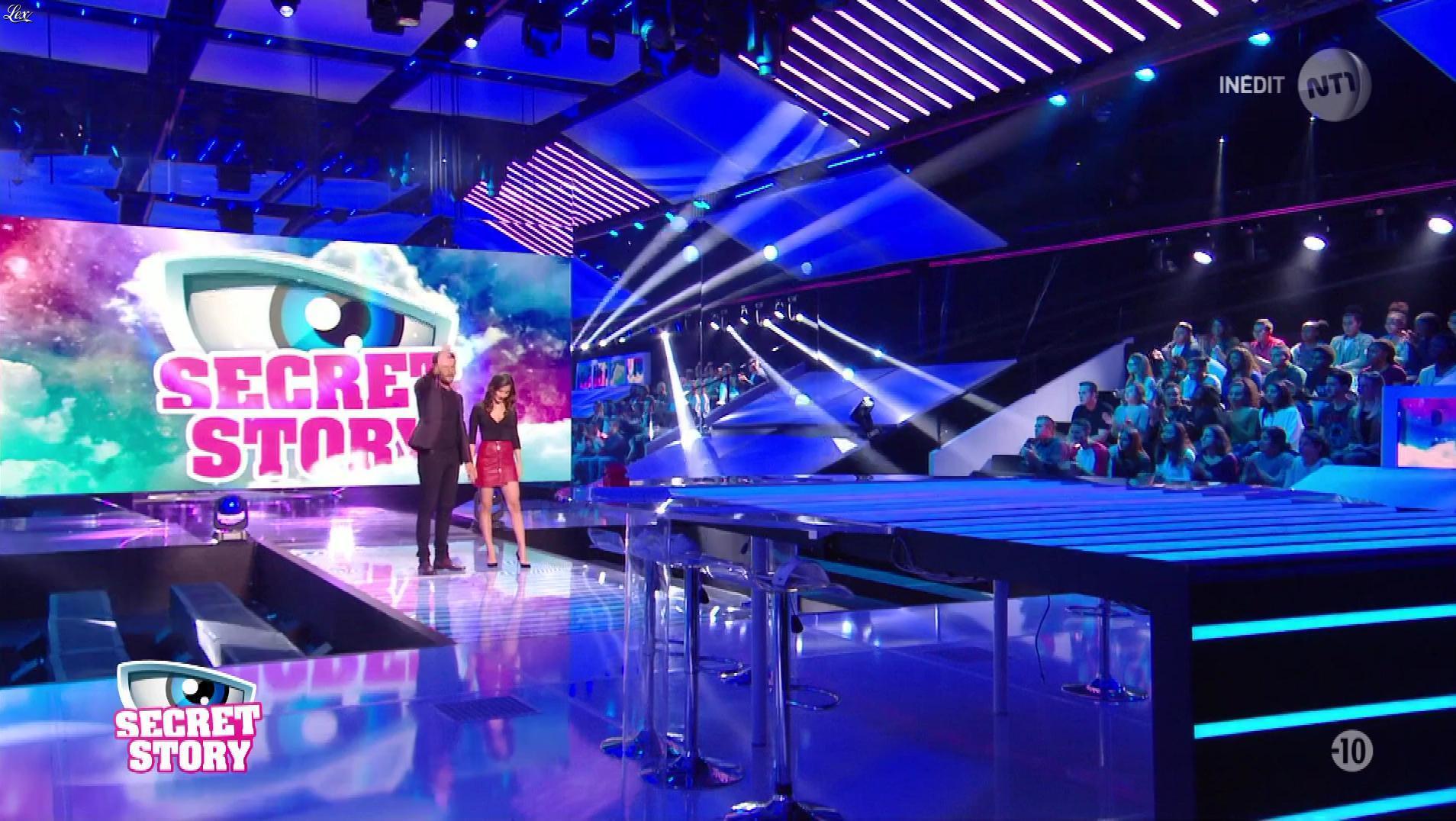Julie dans Secret Story le Debrief. Diffusé à la télévision le 22/09/17.
