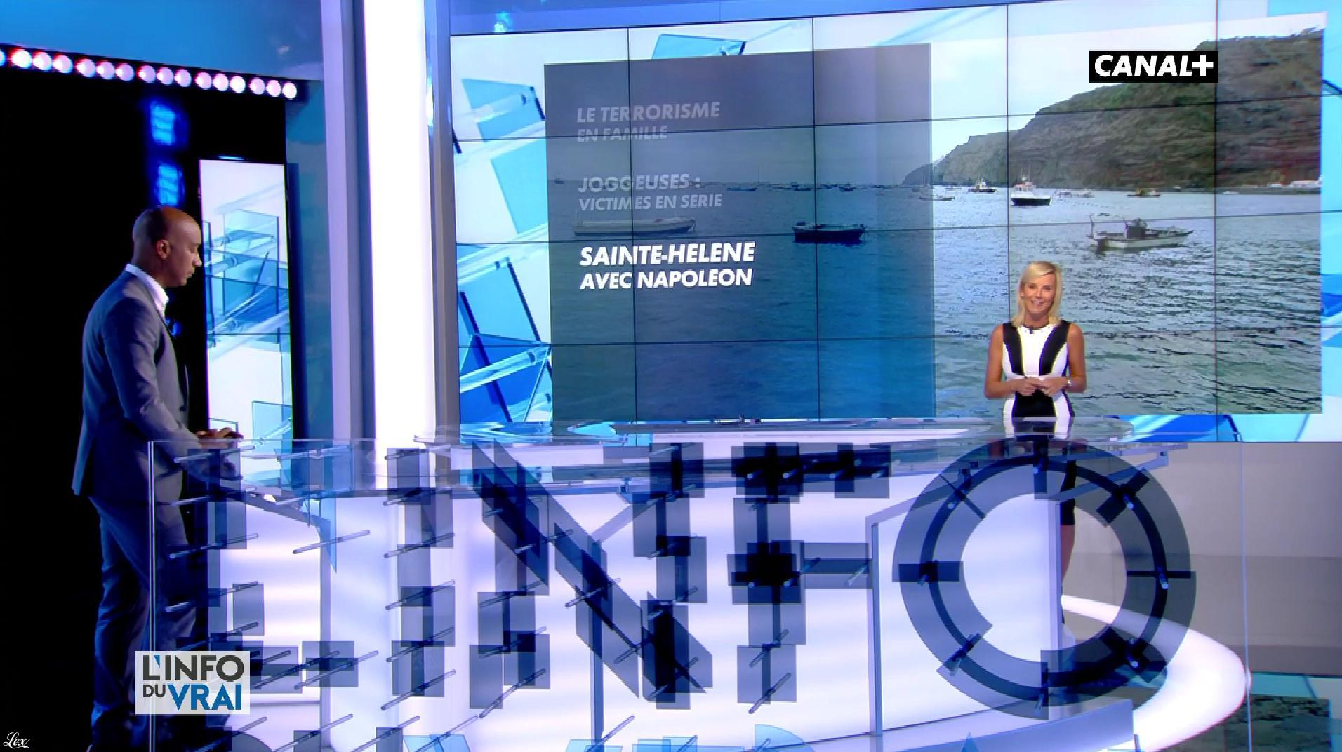 Laurence Ferrari dans l'Info du Vrai. Diffusé à la télévision le 03/11/17.