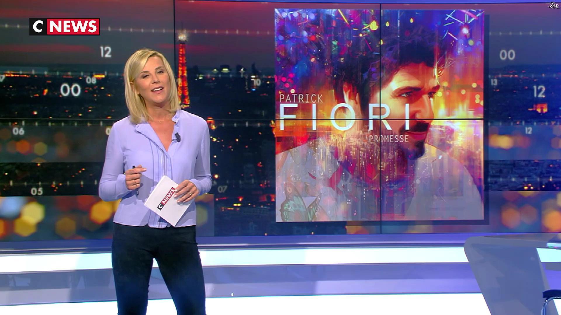Laurence Ferrari dans la Playlist. Diffusé à la télévision le 11/11/17.