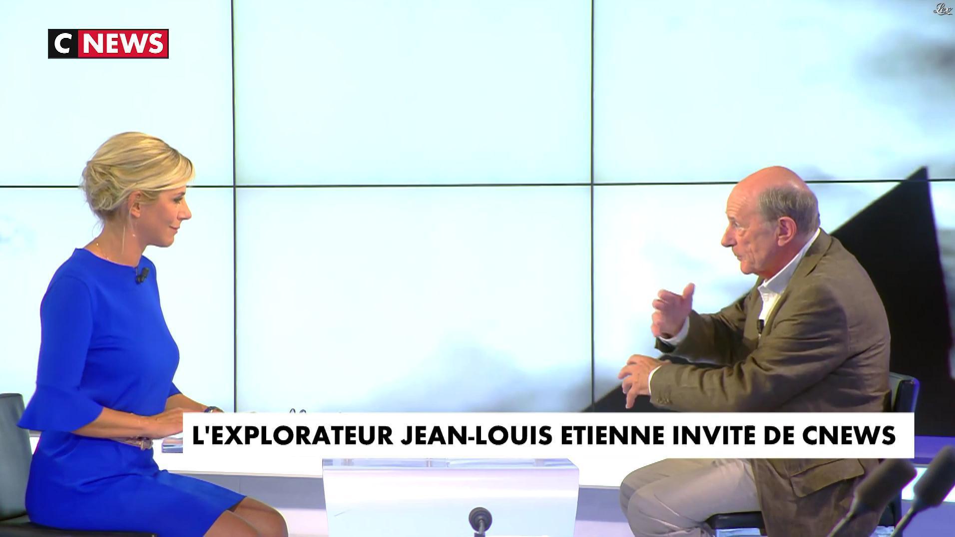Laurence Ferrari dans le Grand JT. Diffusé à la télévision le 07/09/17.