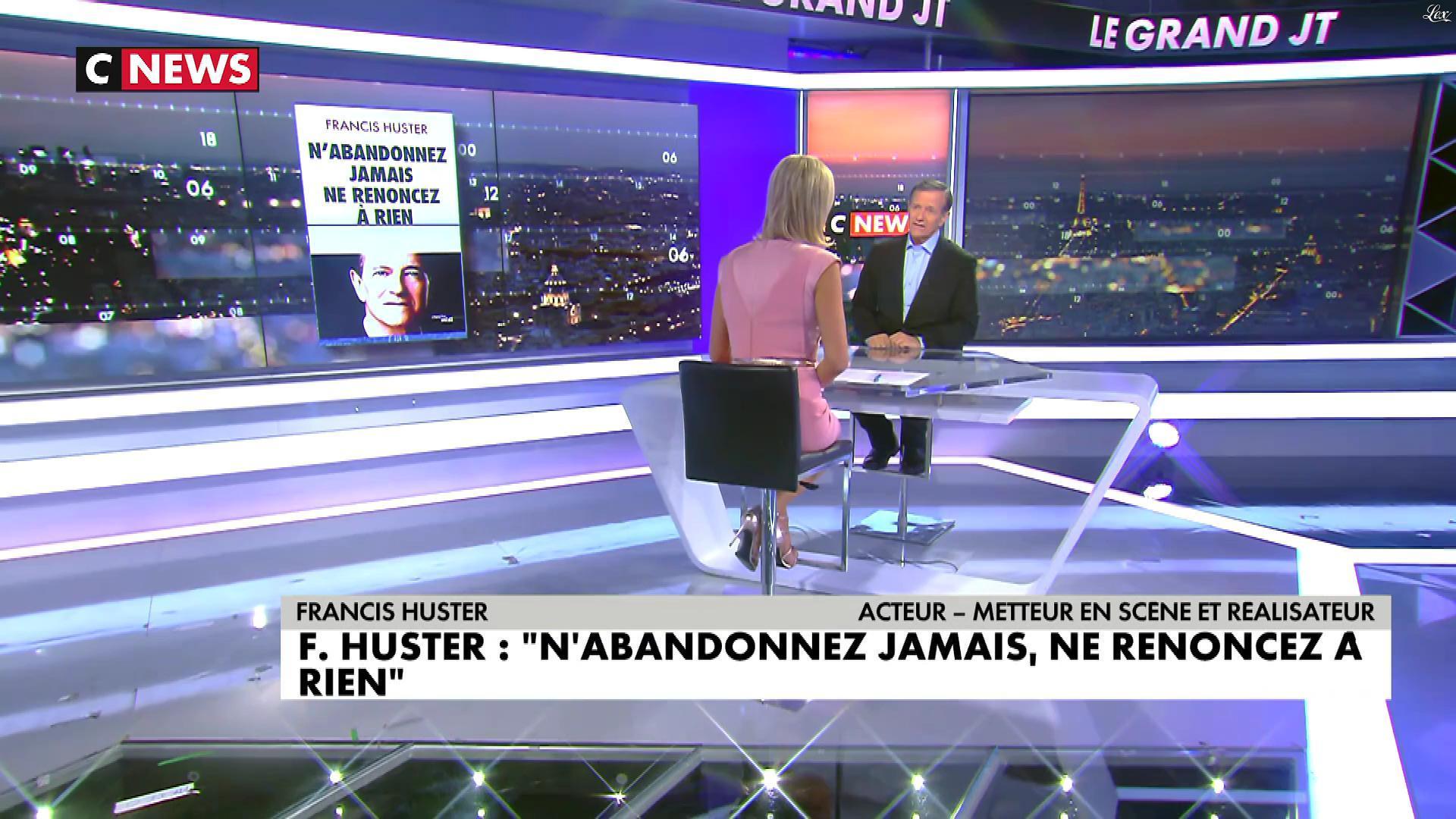 Laurence Ferrari dans le Grand JT. Diffusé à la télévision le 14/09/17.