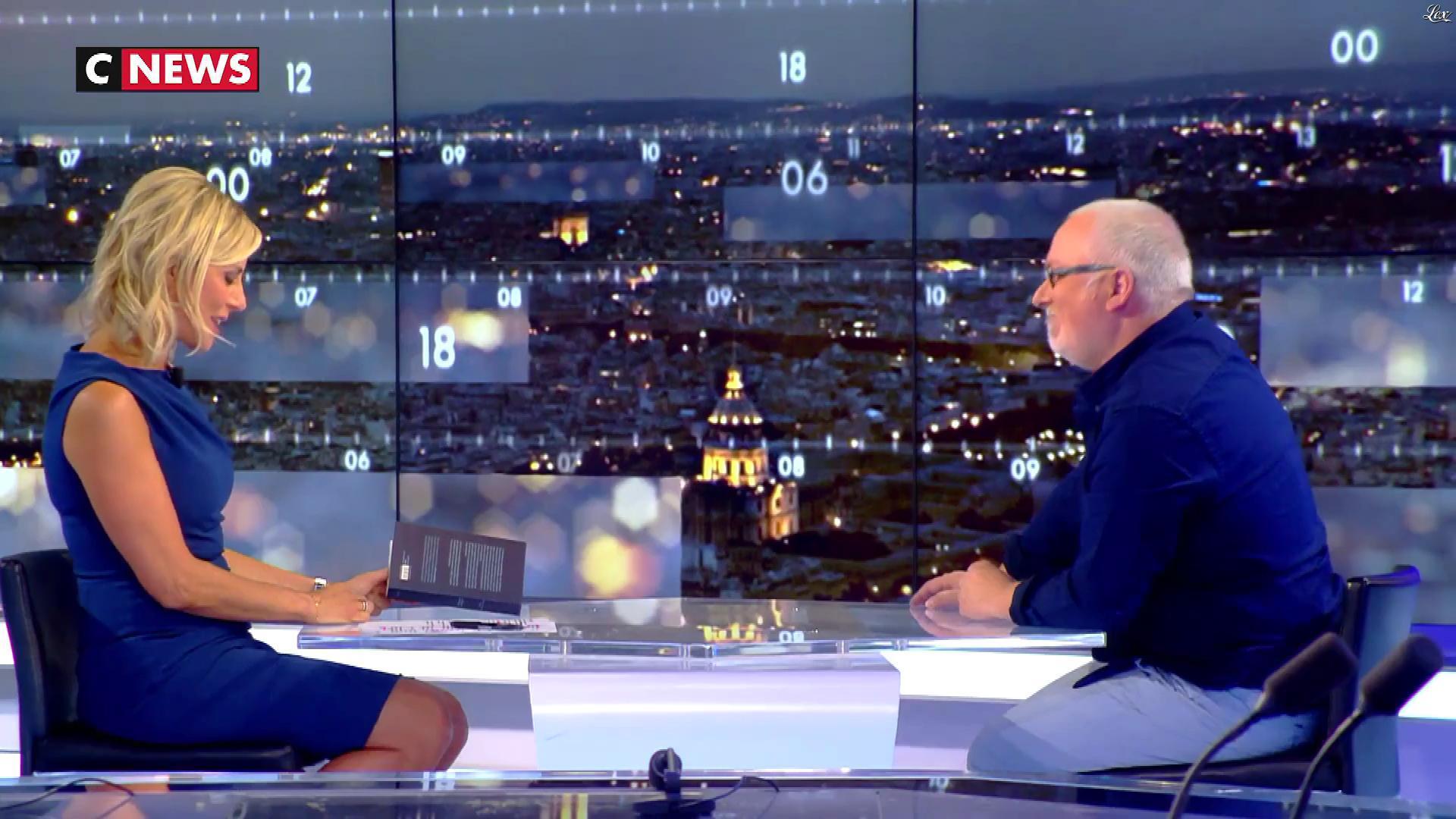 Laurence Ferrari dans le Grand JT. Diffusé à la télévision le 19/09/17.