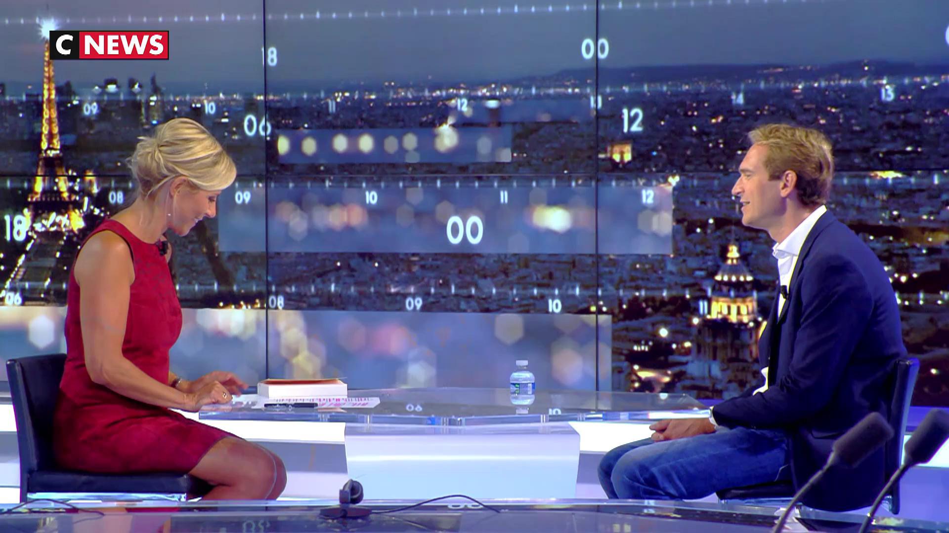 Laurence Ferrari dans le Grand JT. Diffusé à la télévision le 29/08/17.