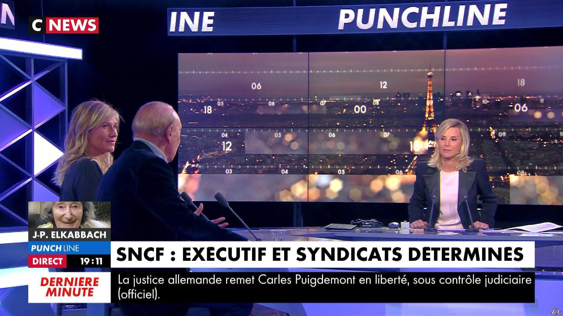 Laurence Ferrari dans Punchline. Diffusé à la télévision le 05/04/18.