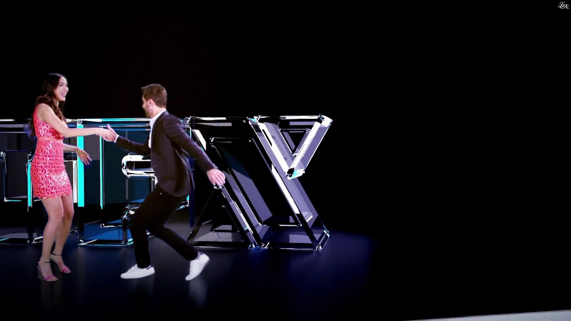 Leïla Ben Khalifa dans une Bande-Annonce de TFX. Diffusé à la télévision le 01/02/18.