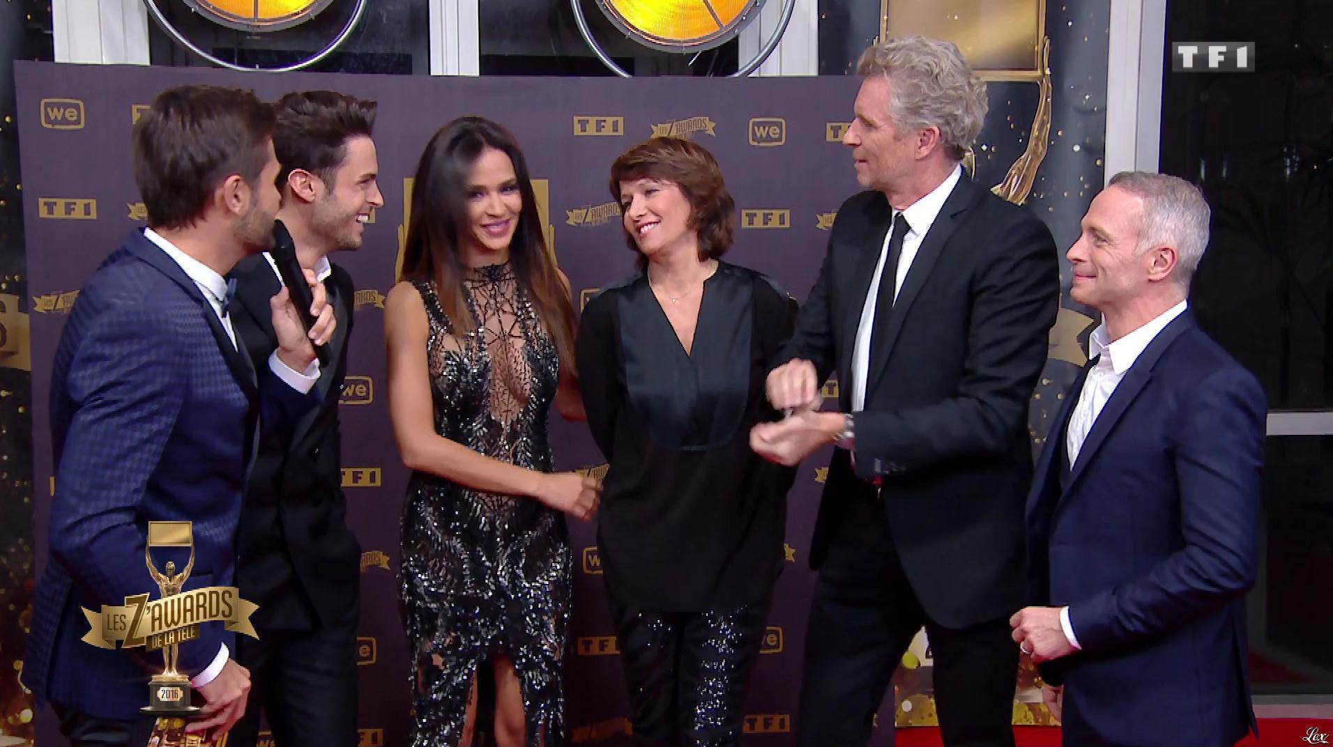 Leïla Ben Khalifa et Carole Rousseau dans les Z Awards. Diffusé à la télévision le 13/01/17.