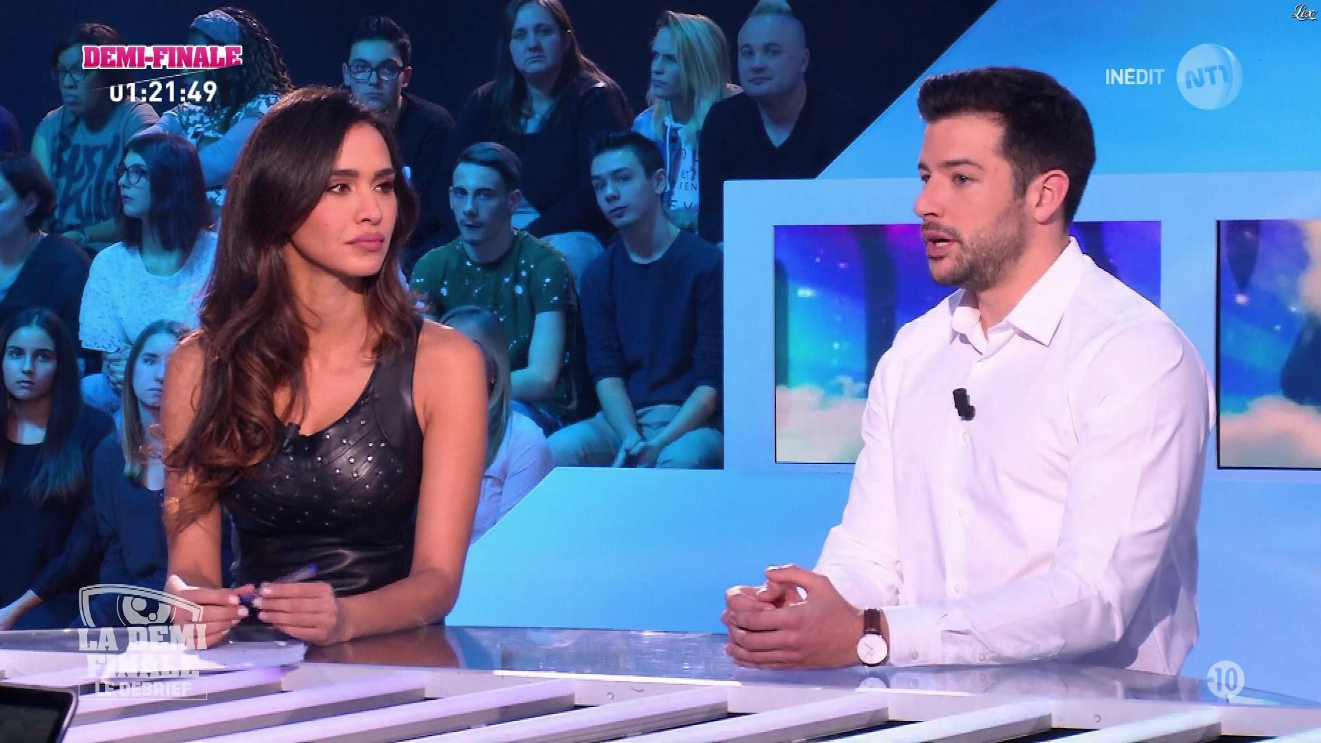 Leïla Ben Khalifa dans Secret Story le Debrief. Diffusé à la télévision le 30/11/17.