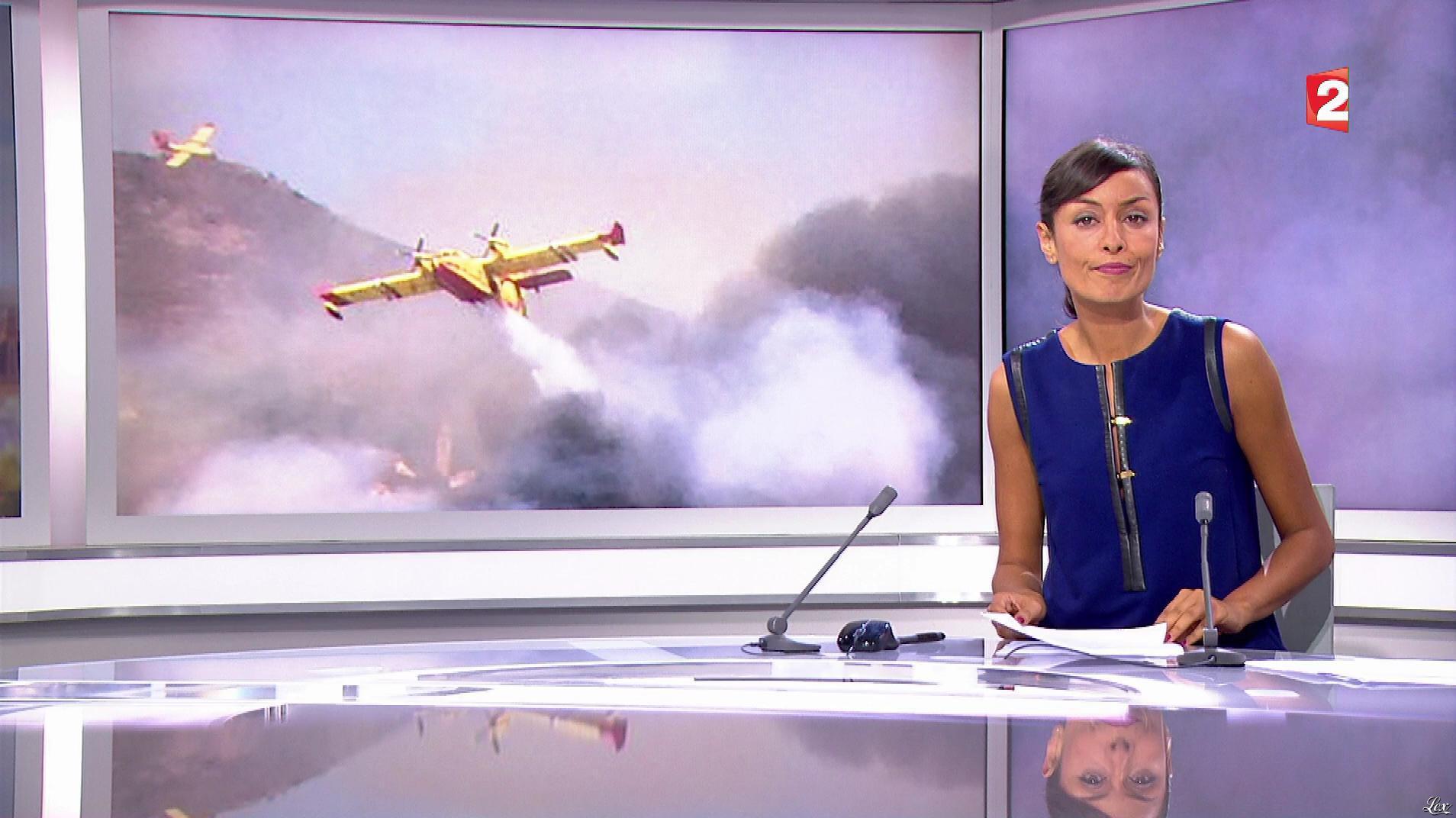 Leïla Kaddou Boudadi dans le 20h. Diffusé à la télévision le 05/08/17.