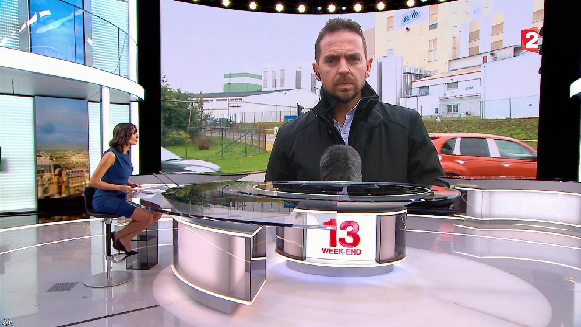 Leïla Kaddour dans le 13h. Diffusé à la télévision le 13/01/18.