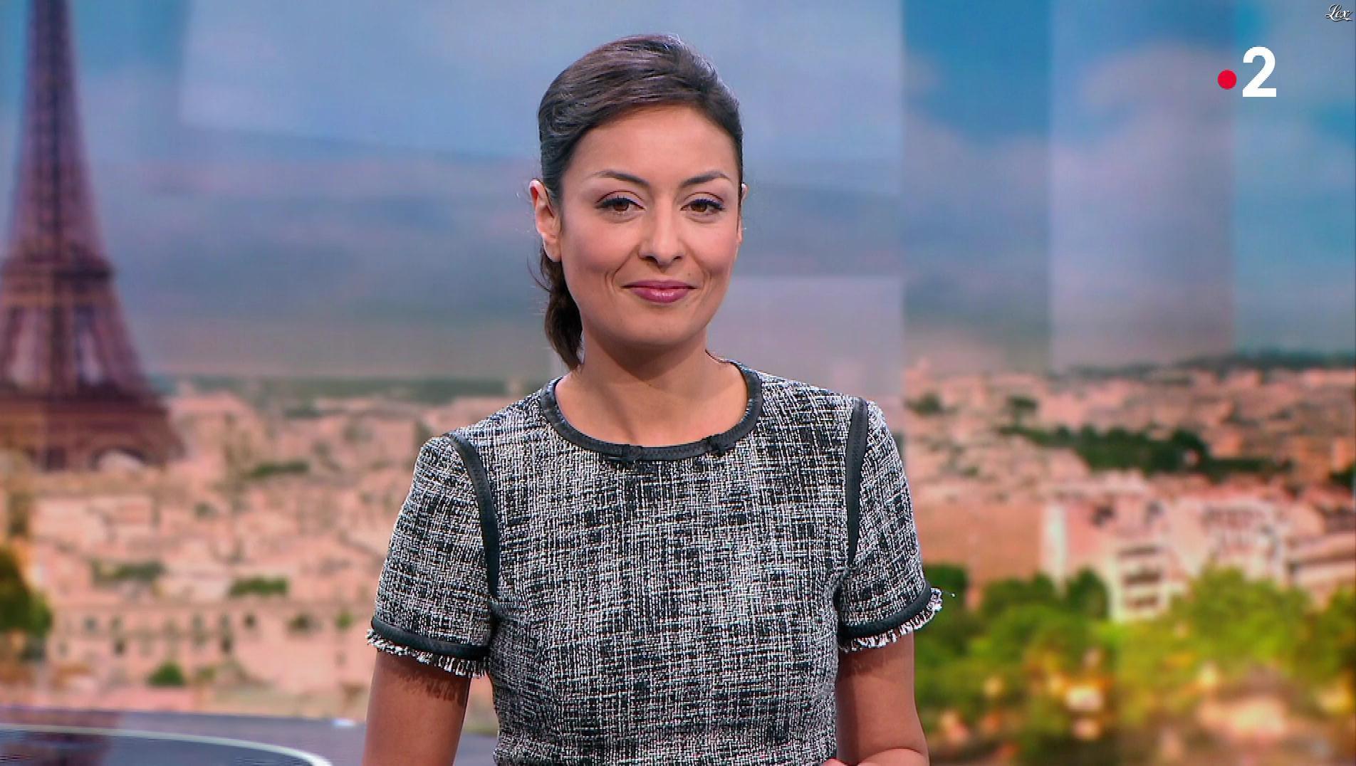 Leïla Kaddour dans le 13h. Diffusé à la télévision le 18/02/18.