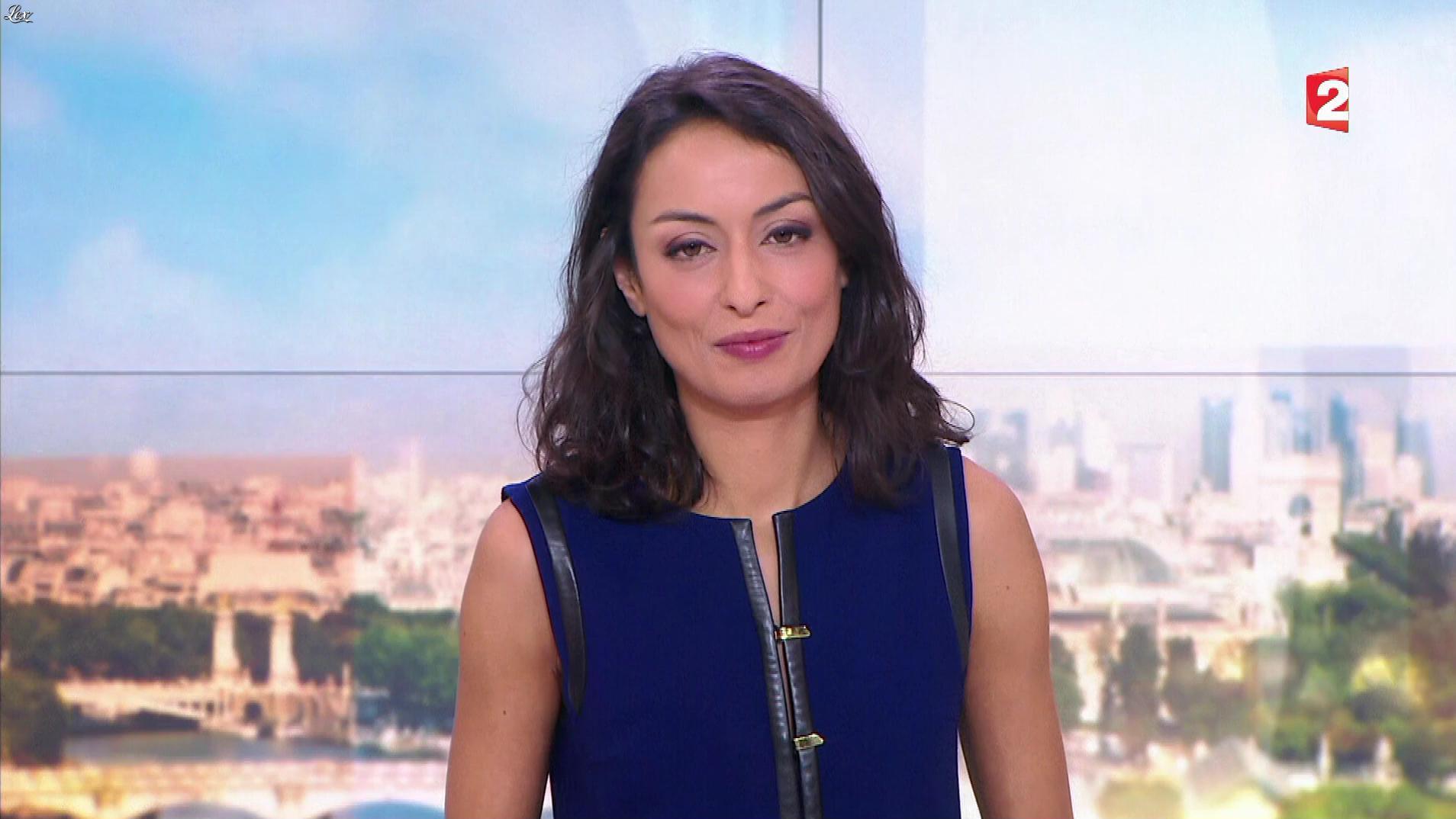 Leïla Kaddour Boudadi dans le 13h. Diffusé à la télévision le 11/02/17.