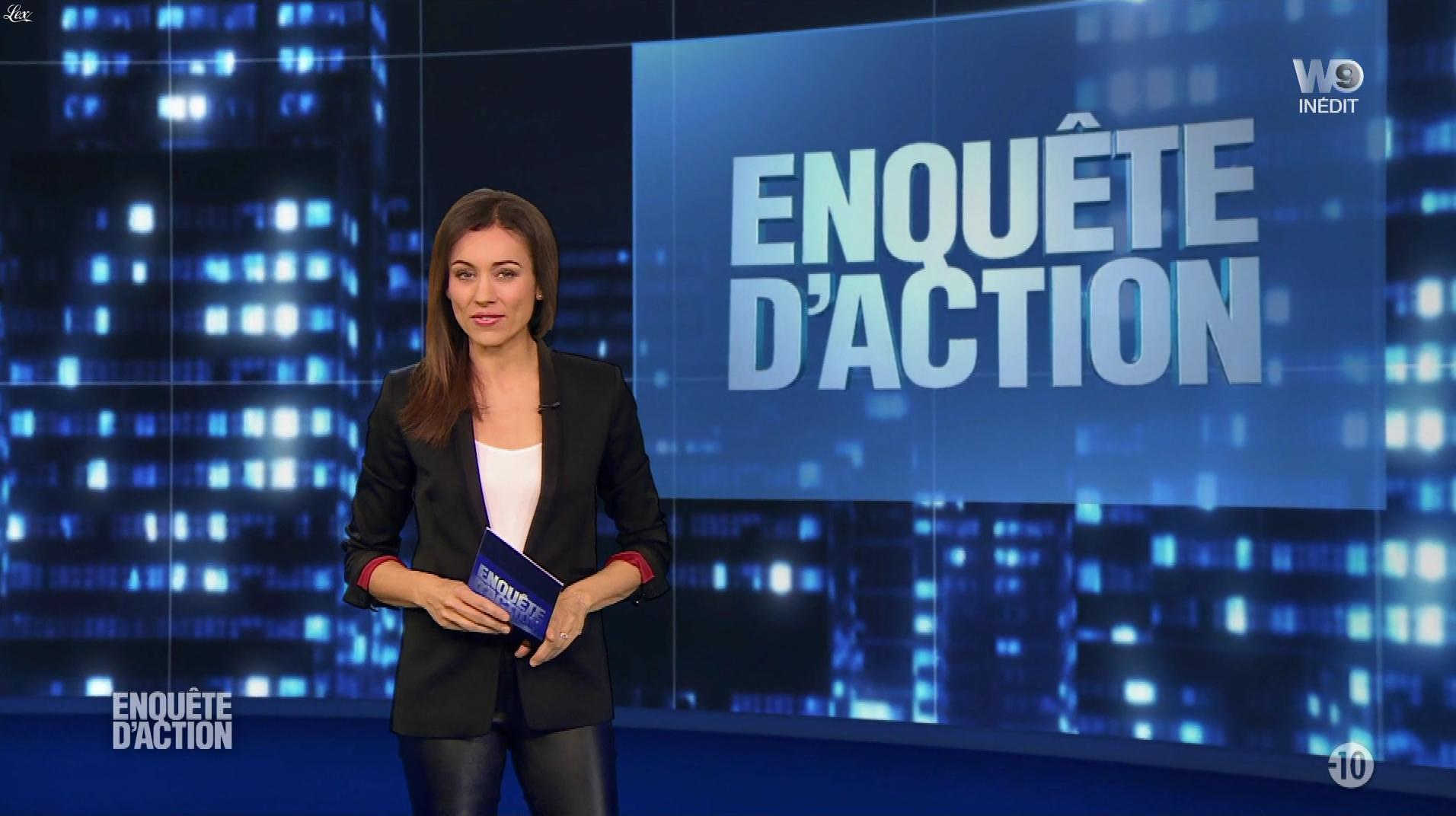 Marie Ange Casalta dans Enquête d'Action. Diffusé à la télévision le 09/03/18.