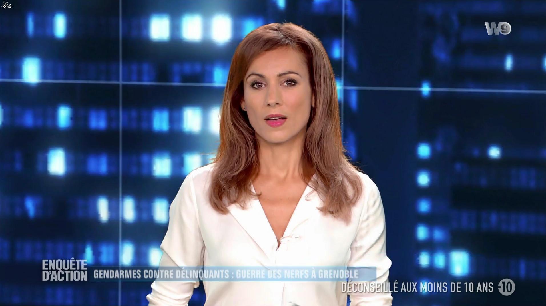 Marie Ange Casalta dans Enquête d'Action. Diffusé à la télévision le 15/12/17.