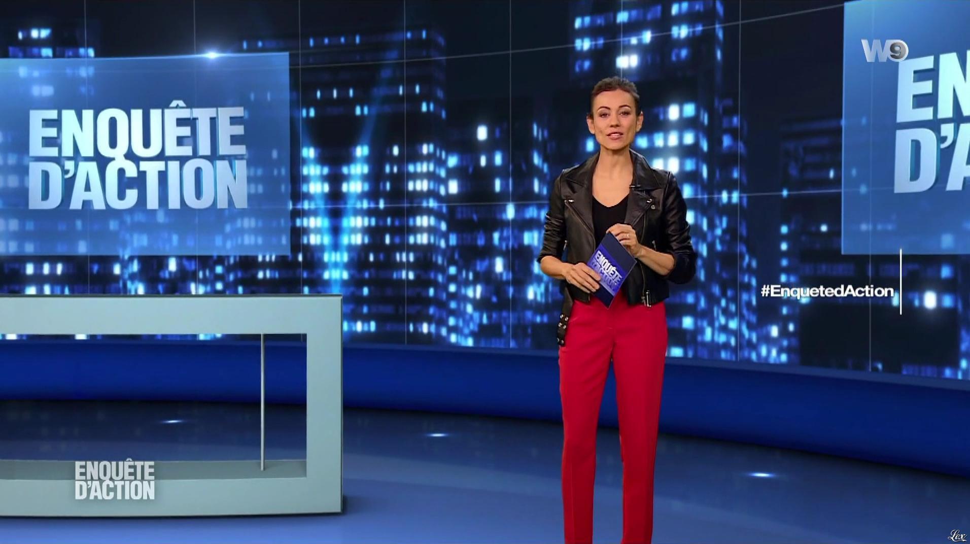 Marie-Ange Casalta dans Enquête d'Action. Diffusé à la télévision le 16/03/18.