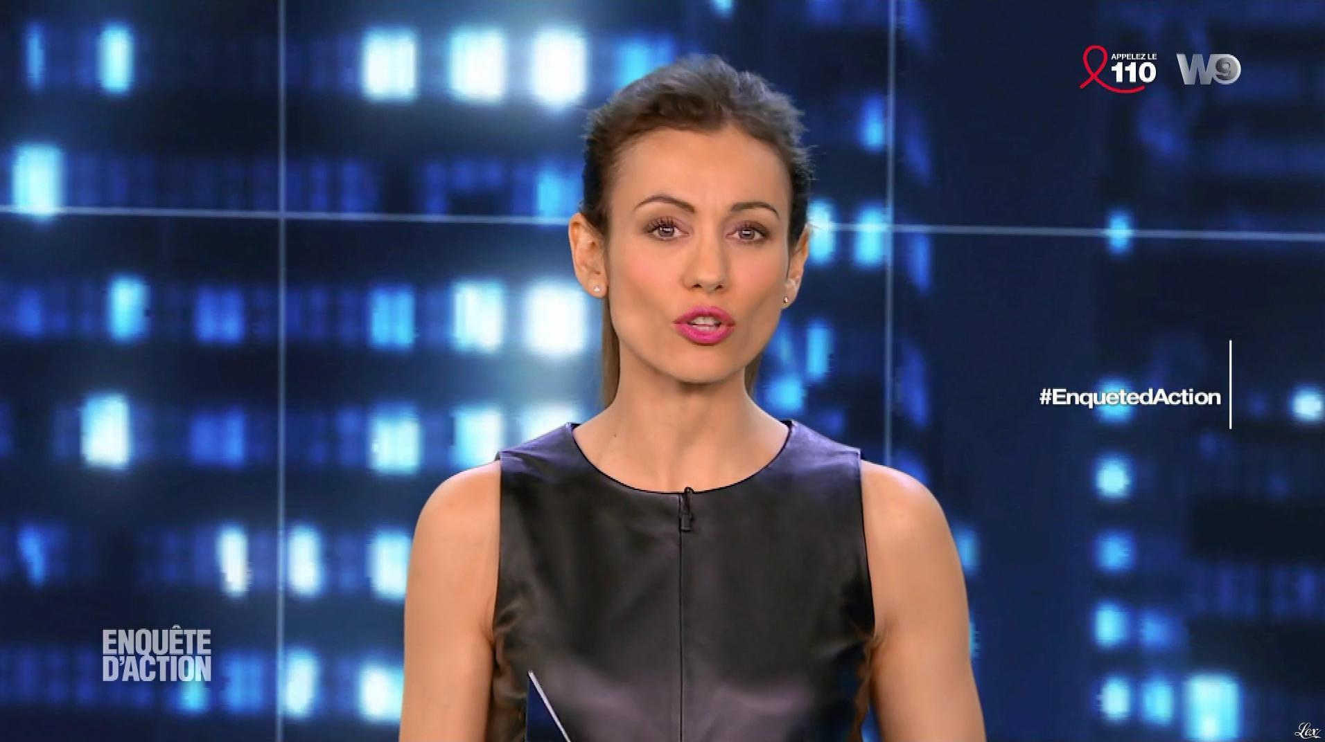 Marie Ange Casalta dans Enquête d'Action. Diffusé à la télévision le 23/03/18.