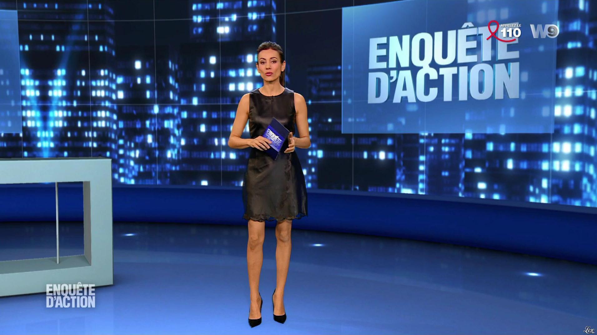 Marie-Ange Casalta dans Enquête d'Action. Diffusé à la télévision le 23/03/18.