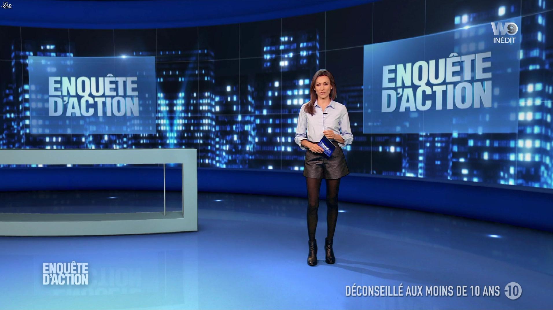 Marie-Ange Casalta dans Enquête d'Action. Diffusé à la télévision le 24/11/17.