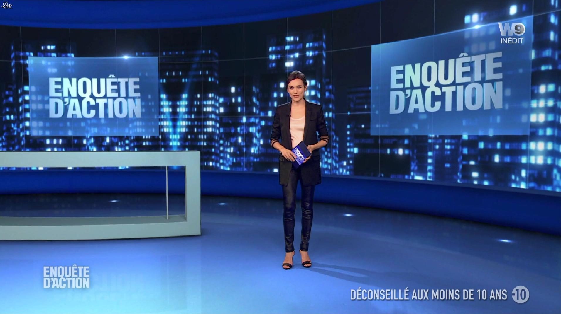 Marie-Ange Casalta dans Enquête d'Action. Diffusé à la télévision le 29/12/17.