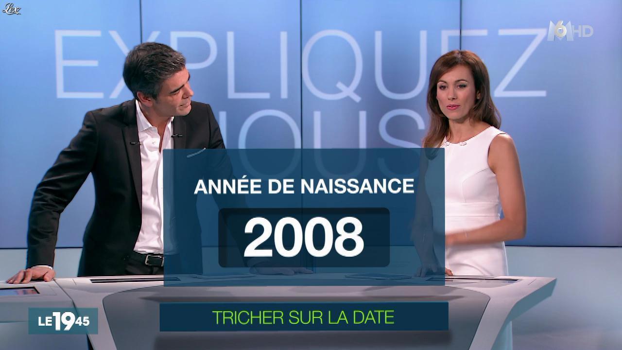Marie-Ange Casalta dans le 19-45. Diffusé à la télévision le 17/12/15.