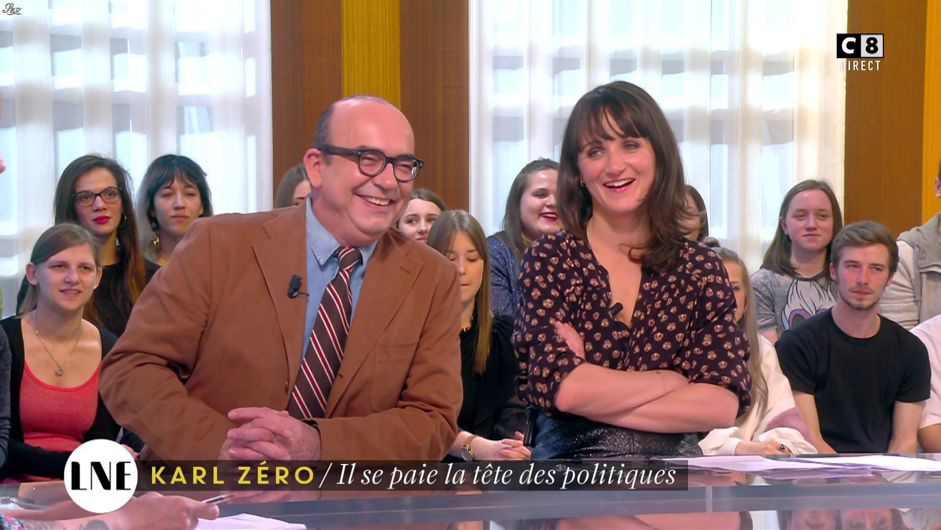 Mathilde Terrier dans la Nouvelle Edition. Diffusé à la télévision le 10/03/17.