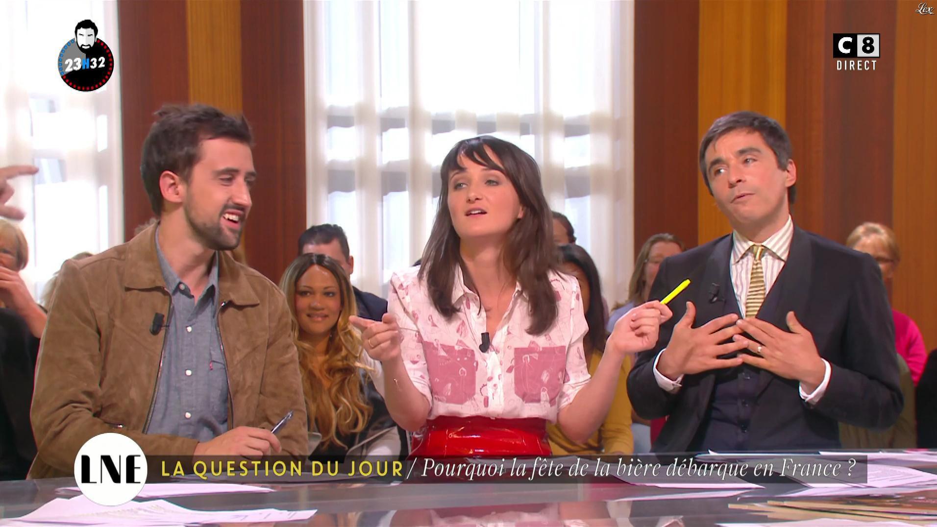 Mathilde Terrier dans la Nouvelle Edition. Diffusé à la télévision le 14/10/16.