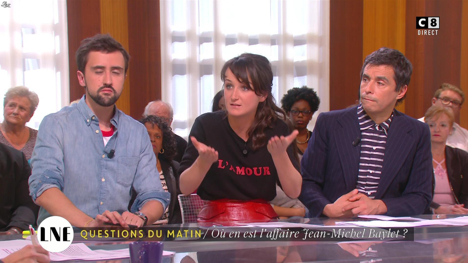 Mathilde Terrier dans la Nouvelle Edition. Diffusé à la télévision le 19/10/16.
