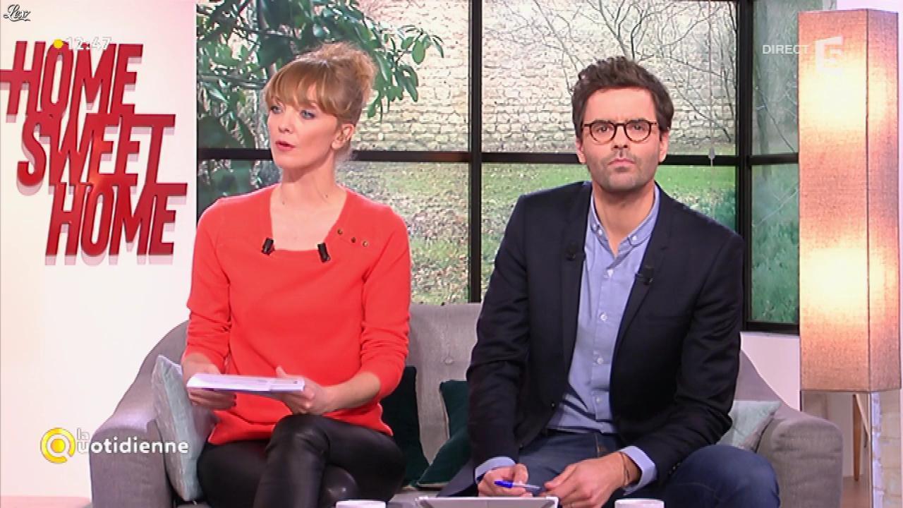 Maya Lauqué dans la Quotidienne. Diffusé à la télévision le 02/02/17.