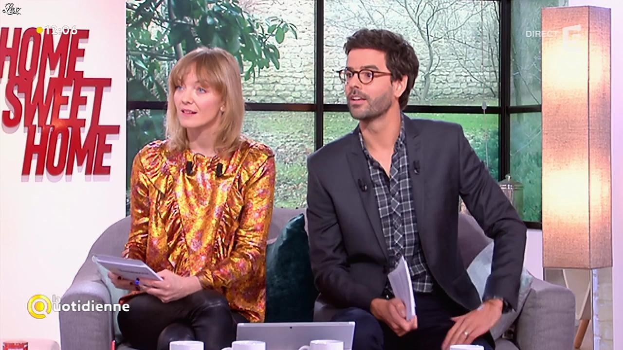 Maya Lauqué dans la Quotidienne. Diffusé à la télévision le 02/03/17.