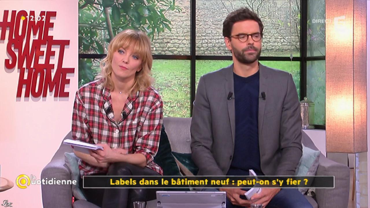 Maya Lauqué dans la Quotidienne. Diffusé à la télévision le 09/03/17.