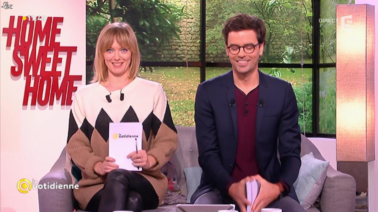Maya Lauqué dans la Quotidienne. Diffusé à la télévision le 21/11/16.