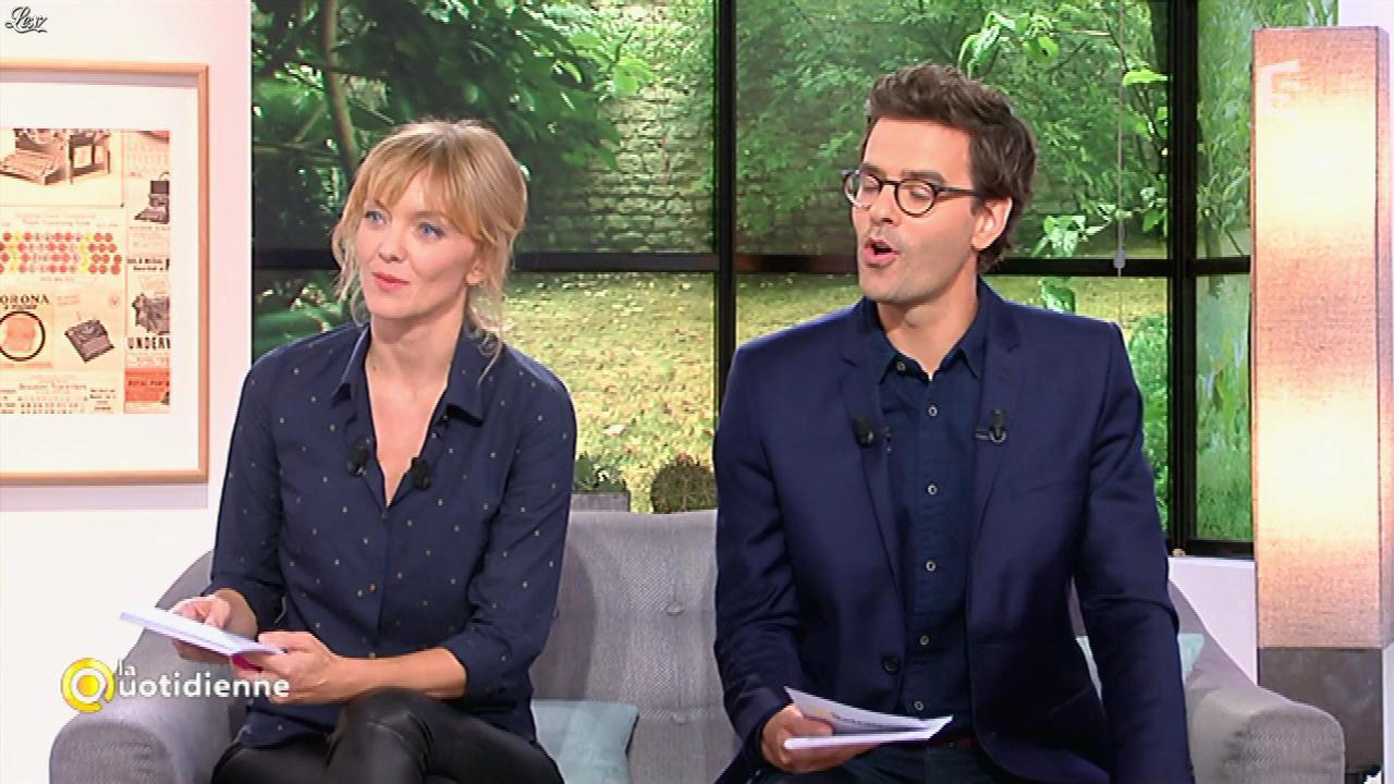 Maya Lauqué dans la Quotidienne. Diffusé à la télévision le 23/12/16.