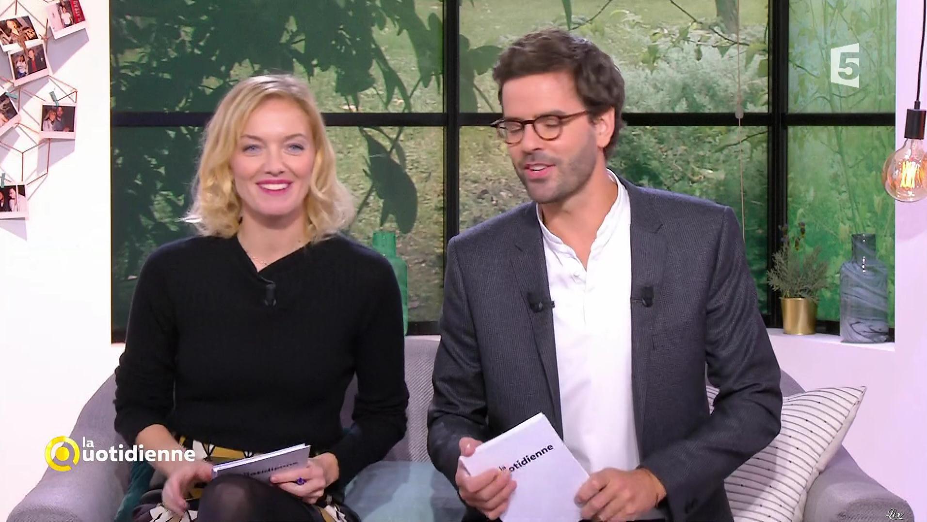 Maya Lauqué dans la Quotidienne. Diffusé à la télévision le 30/11/17.