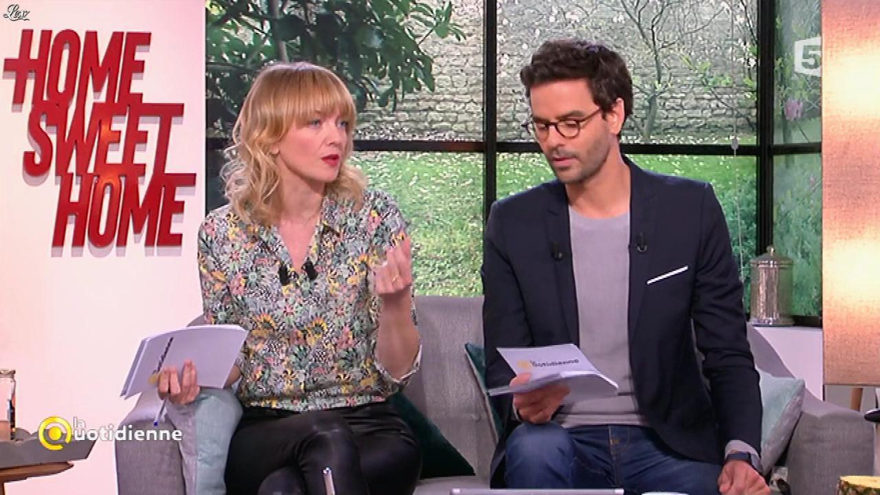 Maya Lauqué dans la Quotidienne. Diffusé à la télévision le 31/03/17.