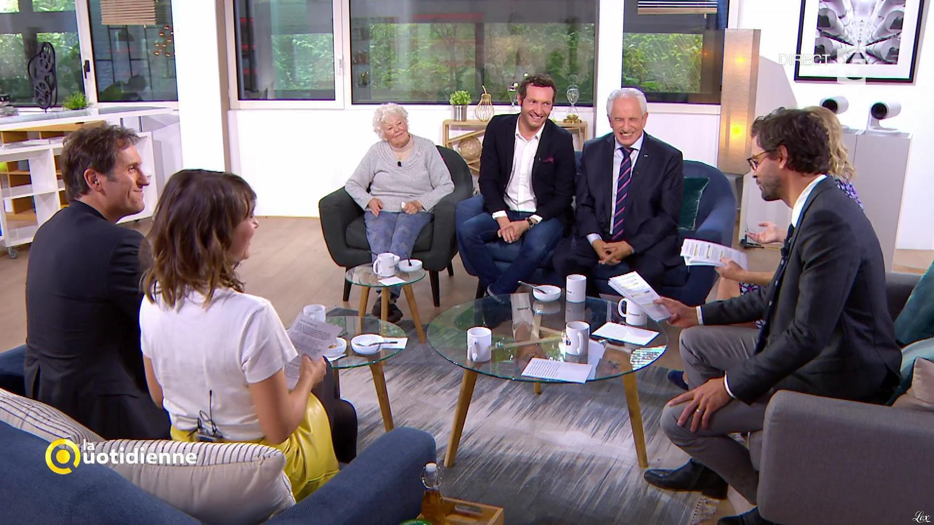 Mélanie Taravant dans la Quotidienne. Diffusé à la télévision le 19/09/17.