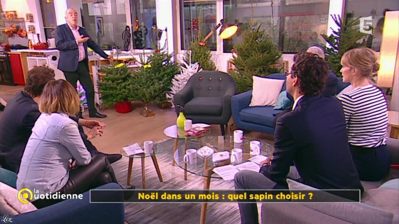 Mélanie Taravant dans la Quotidienne. Diffusé à la télévision le 25/11/16.