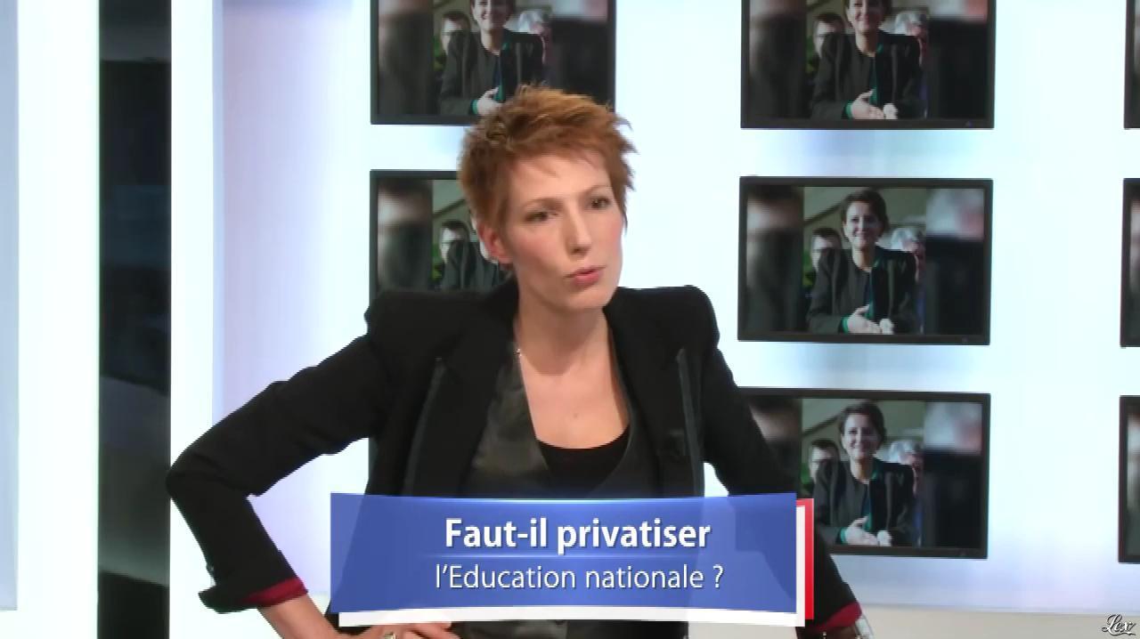 Natacha Polony dans Battle de France. Diffusé à la télévision le 18/11/16.
