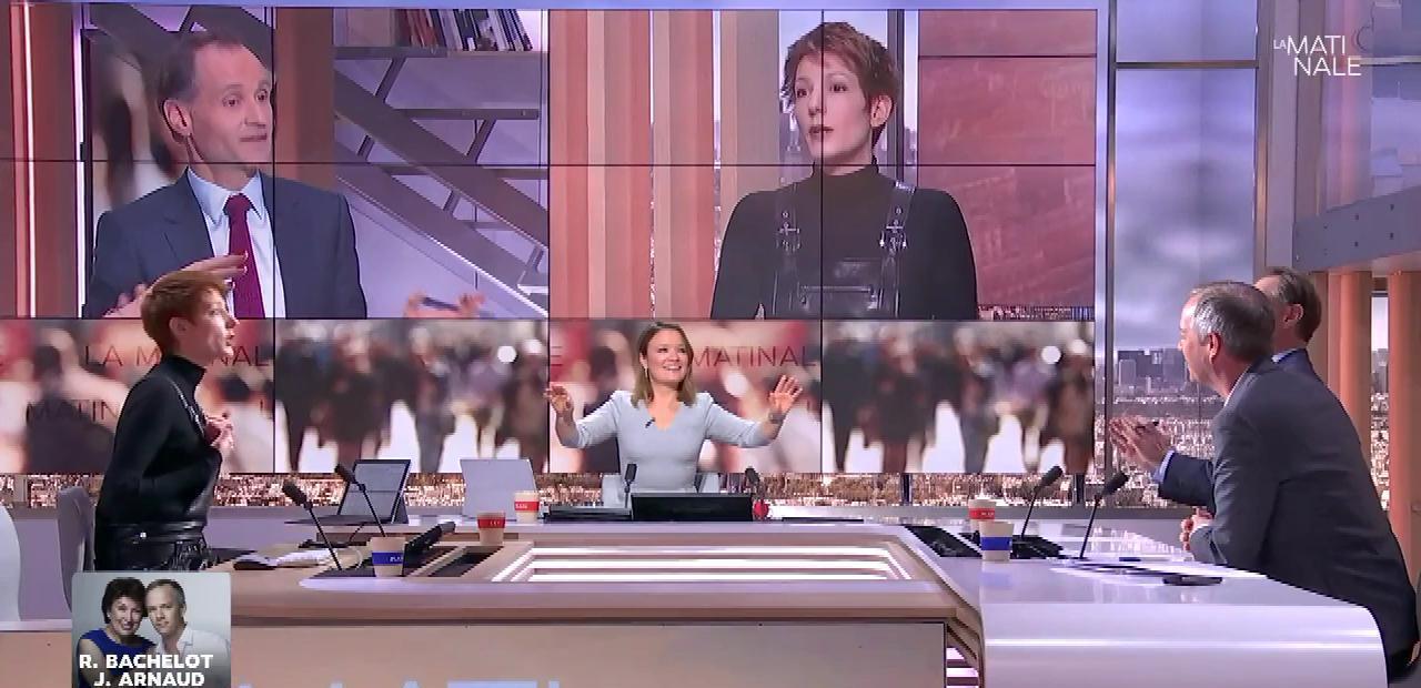 Natacha Polony dans la Matinale. Diffusé à la télévision le 01/02/18.