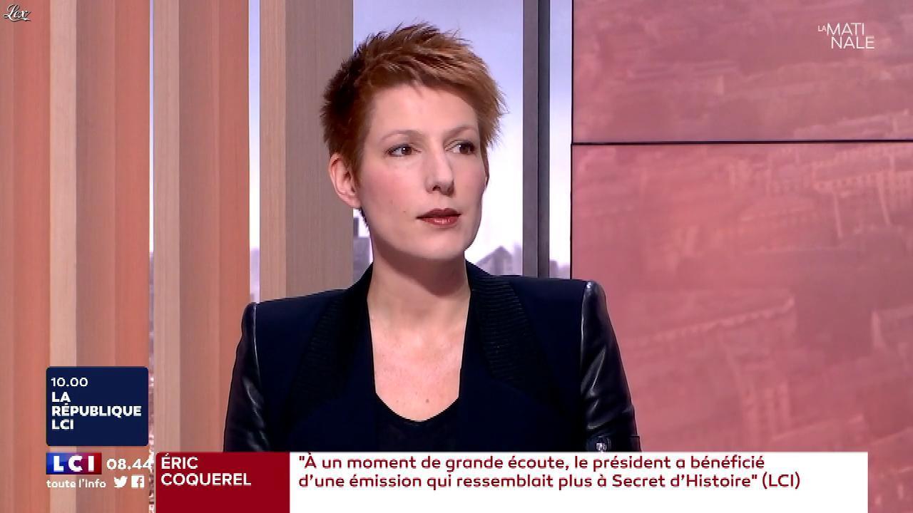 Natacha Polony dans la Matinale de LCI. Diffusé à la télévision le 10/12/17.