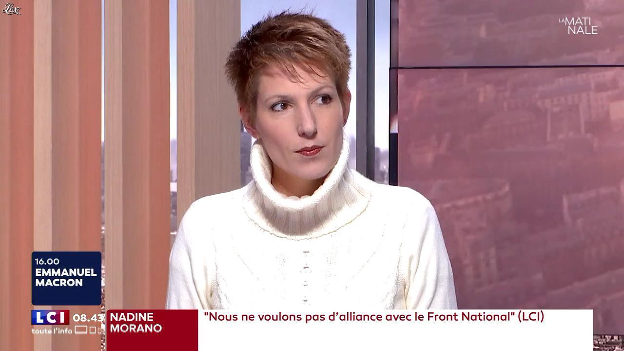 Natacha Polony dans la Matinale de LCI. Diffusé à la télévision le 15/11/17.