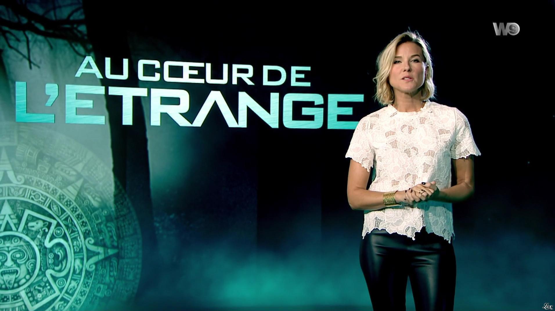 Stéphanie Renouvin dans Au Coeur de l'Etrange. Diffusé à la télévision le 20/03/18.