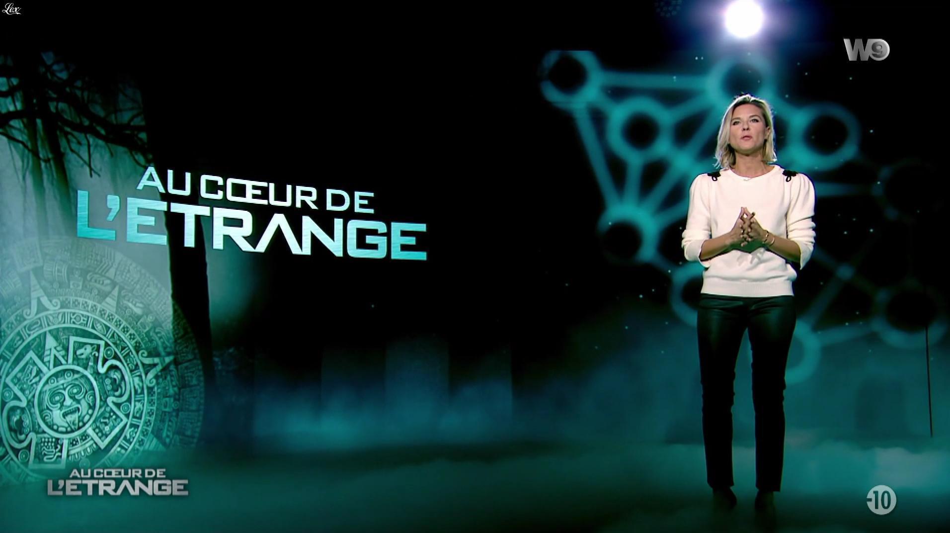 Stéphanie Renouvin dans Au Coeur de l'Etrange. Diffusé à la télévision le 20/12/17.