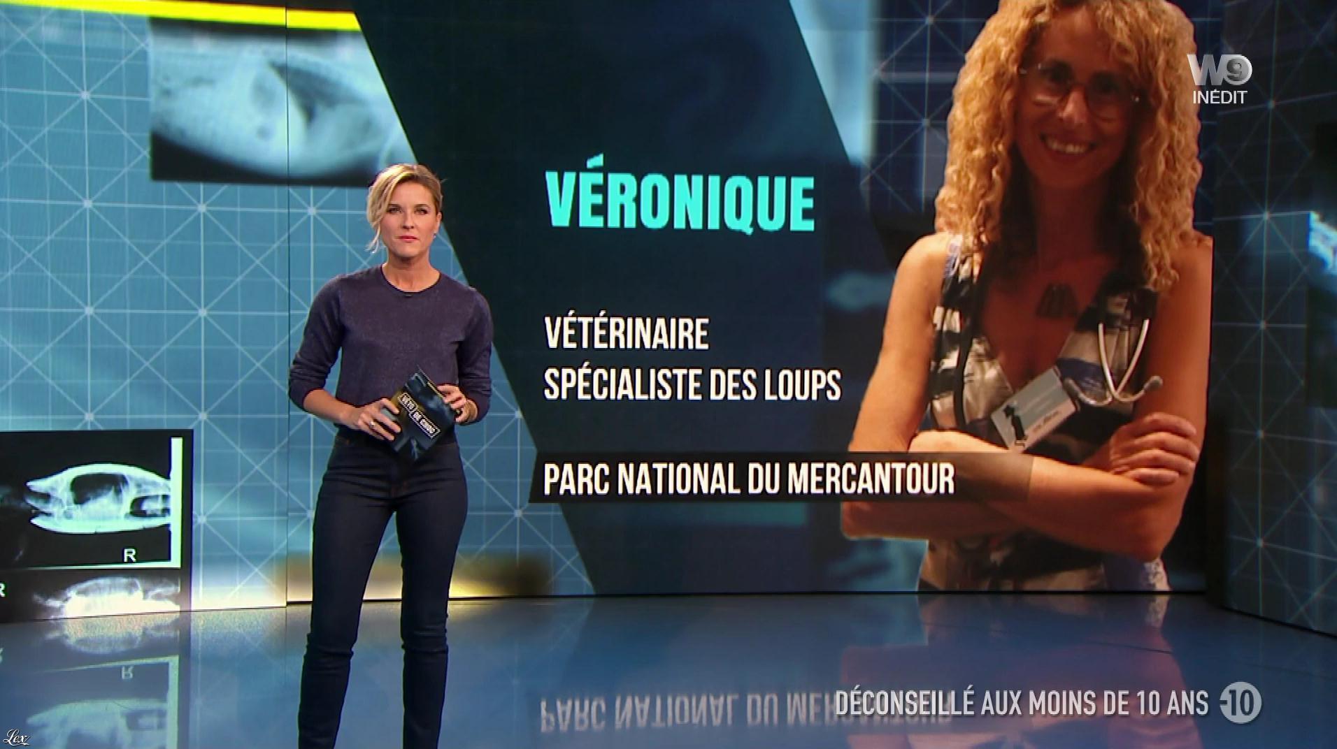 Stéphanie Renouvin dans Véto de Choc. Diffusé à la télévision le 11/01/18.